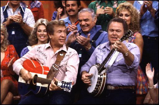 Photo Buck Owens with Roy Clark on Hee Haw