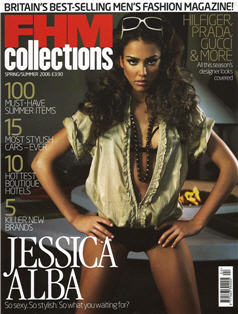 Photo: Jessica Alba FHM Cover April 2006