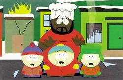 Photo South Park Chef with Kenny, Kyle, and Stan