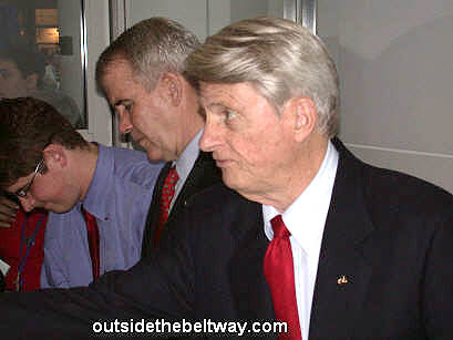 Photo: Zell Miller and Ollie North at CPAC 2005