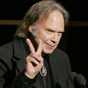 Neil Young Peace Sign