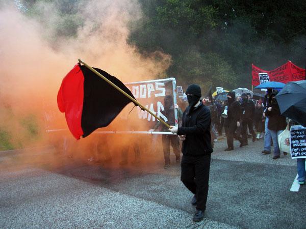 Santa Cruz Riots Photo