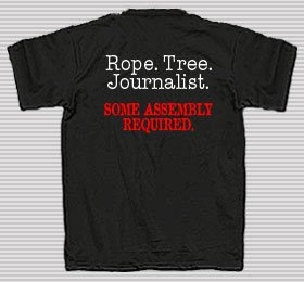 Shirt Rope Tree Journalist