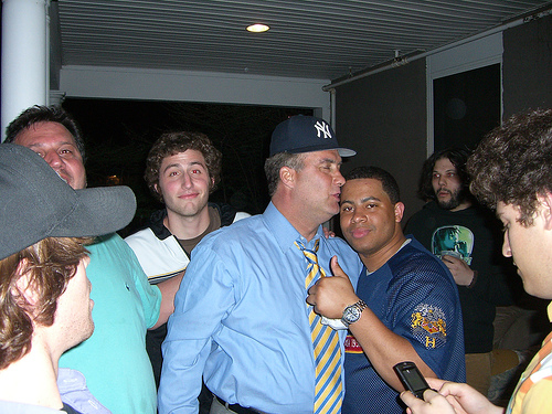 Rep. John Sweeney Frat Party Photo