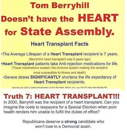 Ad Attacks Transplant Victim