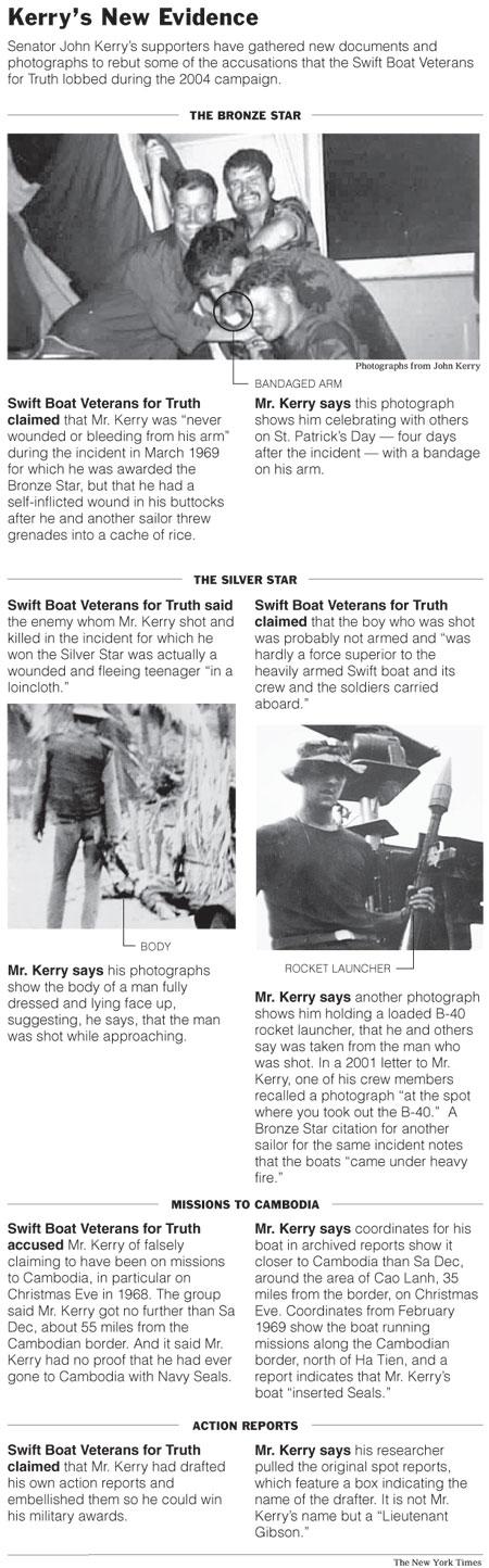 John Kerry Evidence Cambodia NYT Graphic