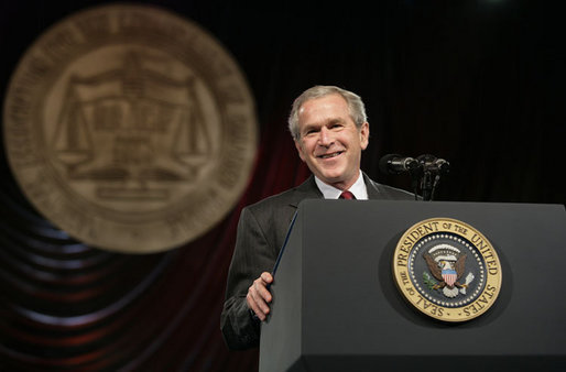 President Bush NAACP Speech
