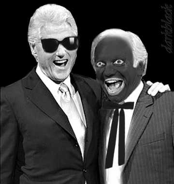 Jane Hamsher Joe Lieberman Blackface Photo