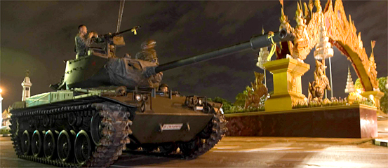 Thai Military Coup Ousts Prime Minister