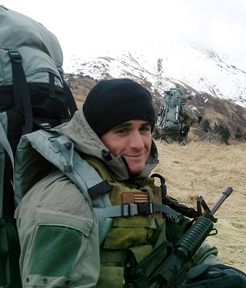 Navy SEAL Michael Mansoor Colleagues described Petty Officer 2nd Class Michael A. Monsoor, seen in this 2004 photo, as