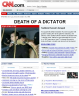 Saddam Executed CNN Website Photo