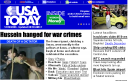 Saddam Executed USA Today Website Photo