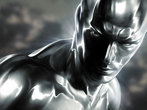 Silver Surfer in Fantastic Four Movie Sequel