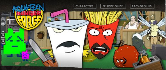 Aqua Teen Hunger Force Screencap