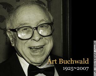 Art Buchwald CNN Obit