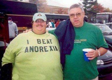 Fat Guy Beats Anorexia