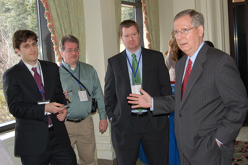 CPAC Blogger McConnell Photos