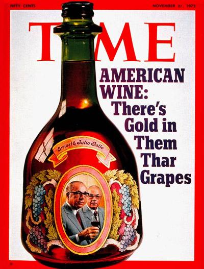Gallo Winery Time Cover 1972