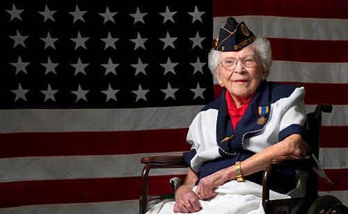 Photo Charlotte Winters, Last WWI Woman Veteran, Dies at 109