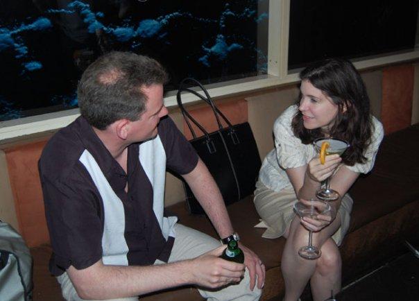 James Joyner and Megan McArdle Photo Reason Happy Hour  20070510