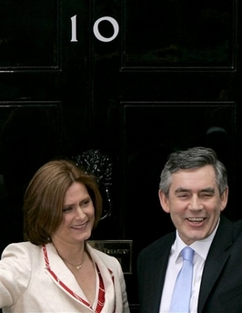 Gordon Brown Becomes British Prime Minister Photo