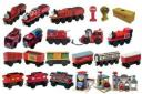 Thomas and Friends Toy Recall A selection of 'Thomas and Friends' wooden railway toys, in an undated image released by the U.S. Consumer Product Safety Commission. More than 1 million of the popular 'Thomas and Friends' wooden railway toys made in China are being voluntarily recalled because some may contain lead paint, the CPSC said on Wednesday. (U.S. Consumer Product Safety Commission/Handout/Reuters)