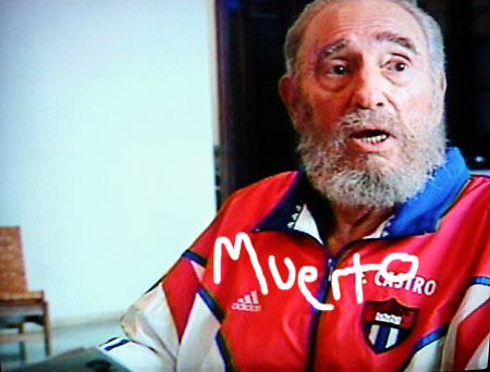 Fidel Castro Muerto Photo