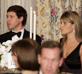 Jenna Bush Engaged Photo Jenna Bush and Henry Hager Photo 2005
