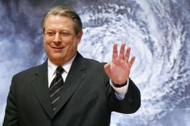 Al Gore Wins Nobel Peace Prize Photo Former U.S. Vice President Al Gore waves to the media at the Japanese premiere of his documentary film