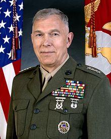 Marine Commandant James Conway