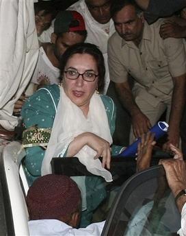 Suicide Bombers Near Bhutto Kill 126 in Pakistan Pakistan
