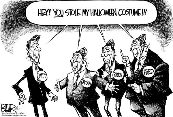 Ronald Reagan Halloween Costume