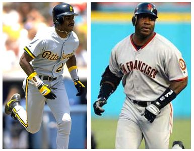 Barry Bonds Before and After Steroids Photo