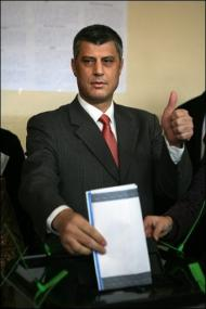 Kosovo Independence Declaration Imminent Hashim Thaci Kosovo Photo