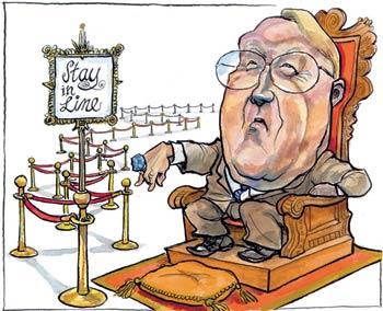 James Dobson Cartoon The Economist