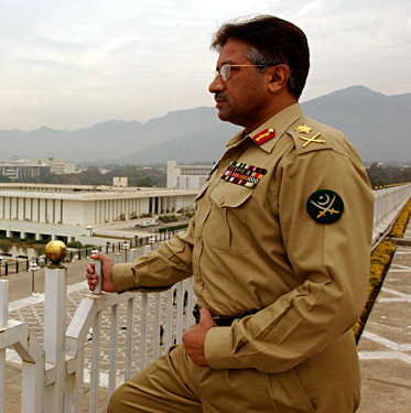Pervez Musharraf Uniform Photo
