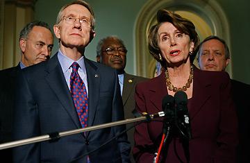Harry Reid and Nancy Pelosi Photo