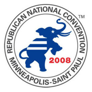 Brokered Convention? 2008 GOP Convention Logo