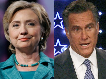Election Prediction: Clinton Defeats Romney Photo
