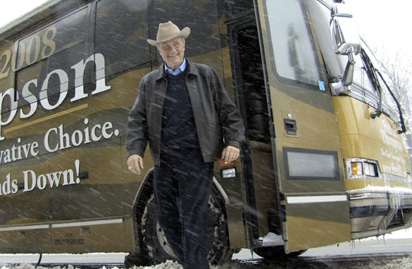Fred Thompson: Not Interested in Running for President Fred Thompson battles Iowa