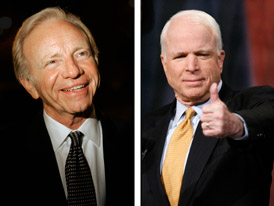 Lieberman to Endorse McCain Photo