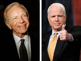 Lieberman to Endorse McCain Photo
