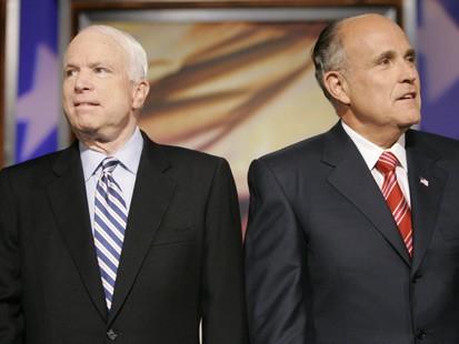 McCain and Giuliani GOP's Best? Sen. John McCain, R-Ariz., right, told ABC News he