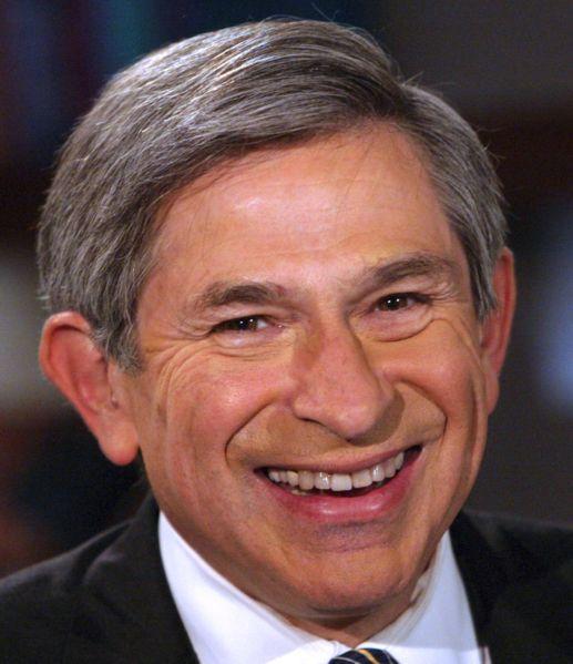 Paul Wolfowitz International Security Advisory Board Photo