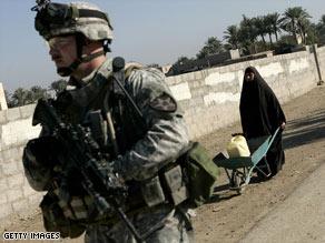 2nd Infantry Soldier Iraq Photo