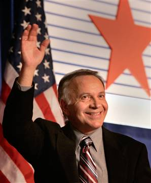 Tom Tancredo Quitting? Susan Walsh / AP Rep. Tom Tancredo, R-Colo., waves after speaking at the Conservative Political Action Conference in Washington on March 2.