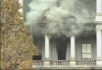 Fire at Eisenhower Executive Office Building