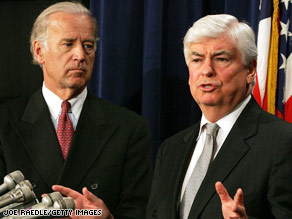 Biden, Dodd Drop Out after Iowa Senators Joe Biden and Chris Dodd abandoned their campaigns.