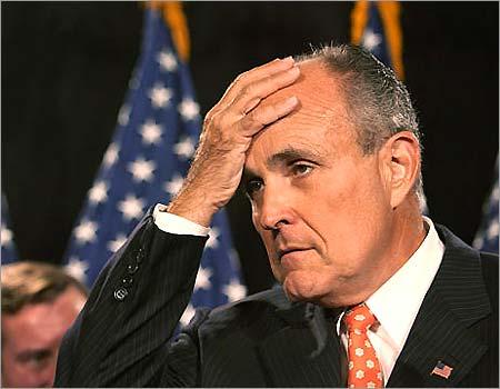 McCain Leads Giuliani in New York