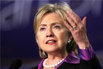 Hillary Clinton Booed at NH Democratic Dinner Photo